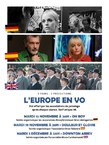 L'Europe en VO - 3 Films, 3 Projections.